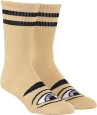 Toy Machine Sect Eye III Sock - camel
