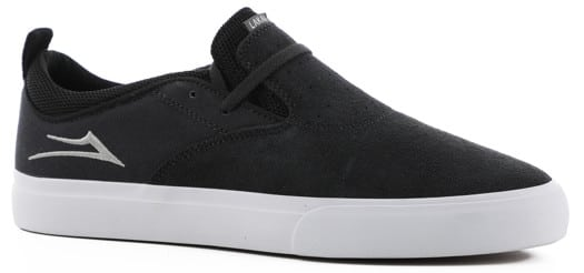 Lakai Riley 2 Skate Shoes - charcoal suede - view large