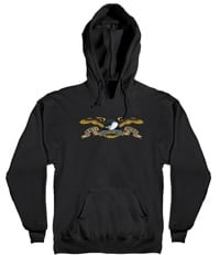 Anti-Hero Kids Eagle Hoodie - black