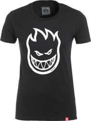 Spitfire Women's Bighead T-Shirt - black/white
