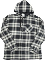 Burton AG Truitt Flannel Shirt - true black lahombre