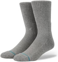 Stance Icon 3-Pack Sock - grey heather