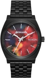 Nixon Time Teller Metallica Hardwired Watch - black