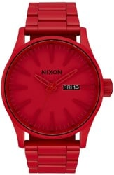 Nixon Sentry SS Watch - monochromatic red
