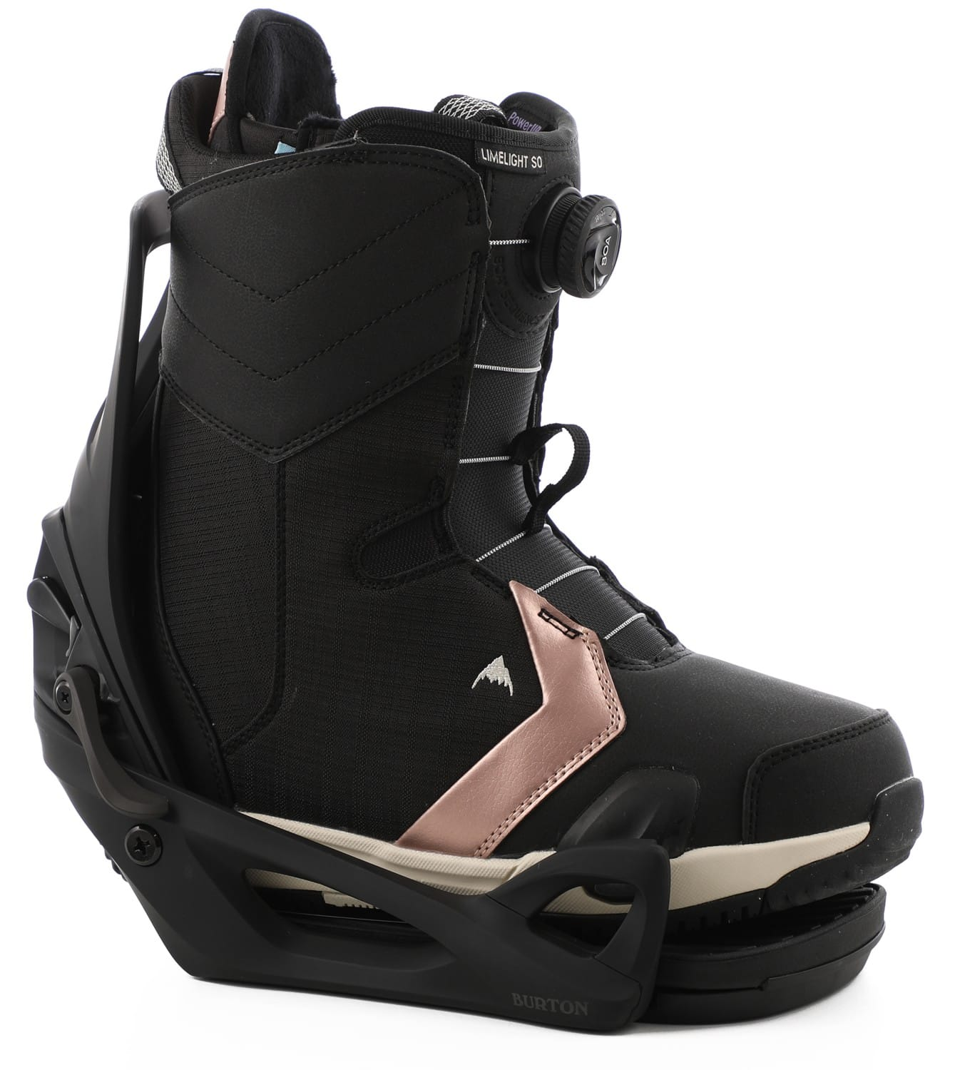 Burton Limelight Step On Snowboard Boots/Bindings Package