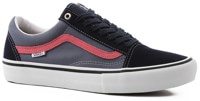 Vans Old Skool Pro Skate Shoes - sky captain/pink