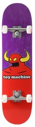 Toy Machine Monster 7.375 Mini Complete Skateboard - purple
