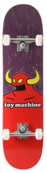 Toy Machine Monster 8.0 Complete Skateboard - maroon
