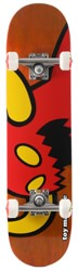 Toy Machine Vice Monster 7.375 Mini Complete Skateboard - orange