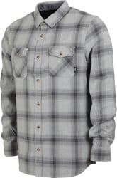 Vans Monterey III Flannel Shirt - grey heather/asphalt