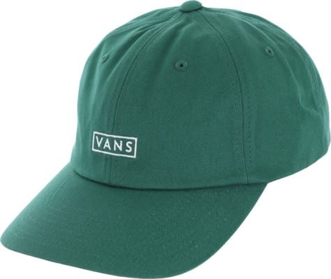 Vans Vans Curved Bill Jockey Strapback Hat - evergreen - view large