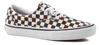 Vans Era Pro Skate Shoes - (multi checker) dress blue/port royale