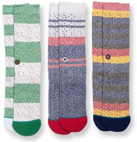 Stance Butter Blend 3-Pack Sock - multi