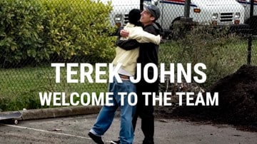 Terek Johns | Welcome to the Team