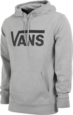 Vans Vans Classic Hoodie - cement heather/black - view large
