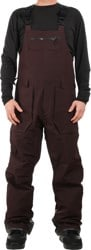 Volcom Rain Gore-Tex Bib Overall Pants - black red