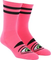 Toy Machine Sect Eye III Crew Sock - pink