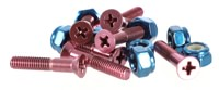 Bro Style Bro Bolts Skateboard Hardware - leabres