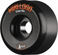 Mini Logo Hybrid A-Cut Skateboard Wheels - black (90a)