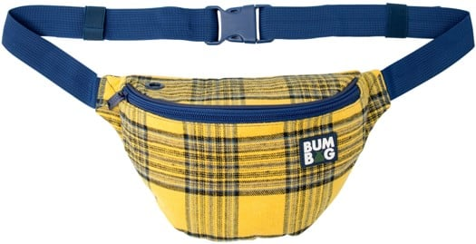 Bumbag Flanders Basic Hip Pack - yellow plaid - view large