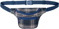 Bumbag Flanders Deluxe Hip Pack - blue plaid