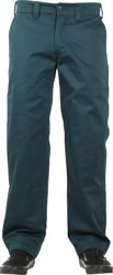 Theories Stamp Work Pants - scarab green