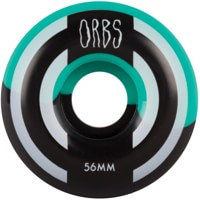 Orbs Apparitions Skateboard Wheels - teal/black splits (99a)