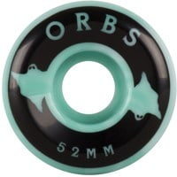 Orbs Specters Skateboard Wheels - teal/white swirls (99a)