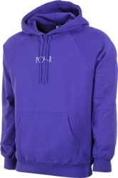 Polar Skate Co. Default Hoodie - deep purple