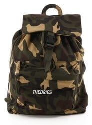 Theories Stamp Camper Backpack - camo