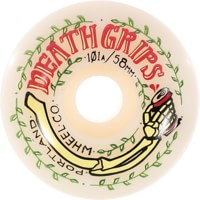 Portland Wheel Company Death Grips Skateboard Wheels - white (101a)