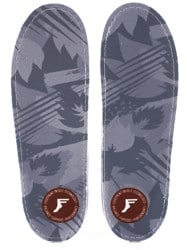Footprint Gamechangers Custom Orthotics 6mm Insoles - light grey camo