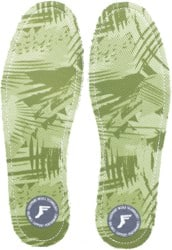 Footprint Kingfoam Flat Ultra Low 3.5mm Insoles - green camo
