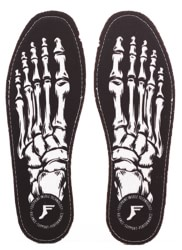 Footprint Kingfoam Flat 5mm Insoles - skeleton black