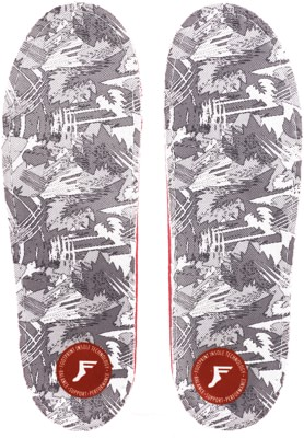 Footprint OG PU Gamechangers Lite Custom Orthotics 6mm Insoles - white camo - view large