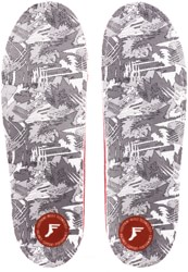 Footprint OG PU Gamechangers Lite Custom Orthotics 6mm Insoles - white camo