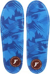 Footprint Kingfoam Orthotics 6mm Insoles - blue camo