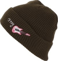 26087f71e0a Frog Extreme Guiter Beanie - olive