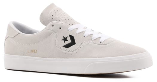 Converse Louie Lopez Pro - OX Skate Shoes - white/white/black - view large