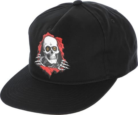 Powell Peralta Ripper Snapback Hat - black - view large