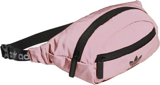 Adidas Originals National Hip Bag - dust pink/black - view large