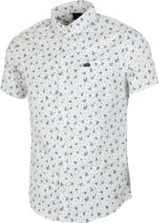 RVCA That'll Do Print S/S Shirt - antique white