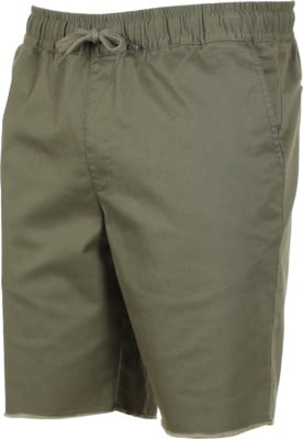 RVCA Weekend Elastic Shorts - olive - view large