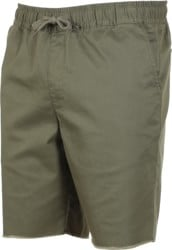 RVCA Weekend Elastic Shorts - olive