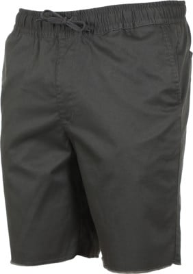 RVCA Weekend Elastic Shorts - pirate black - view large