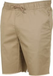 RVCA Weekend Elastic Shorts - wood