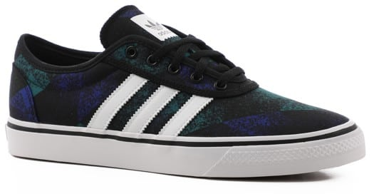 Adidas Adi Ease Skate Shoes - core black/footwear white/gum - view large