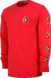 Volcom Deadly Stones L/S T-Shirt - red