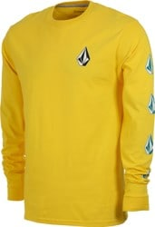 Volcom Deadly Stones L/S T-Shirt - true yellow