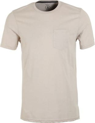 Volcom Heather Pocket T-Shirt - oatmeal - view large
